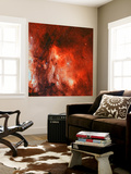 The Pelican Nebula Wall Mural by  Stocktrek Images