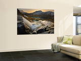 A Small Creek Running Through Skittendalen Valley in Troms County, Norway Wall Mural by  Stocktrek Images