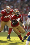 Lions 49ers Football: San Francisco, CA - Frank Gore Photographic Print by Tony Avelar