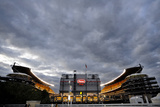 Chargers Steelers Football: Pittsburgh, PA - Heinz Field Photographic Print by Don Wright