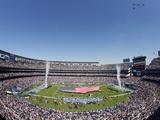 Ravens Chargers Football: San Diego, CALIFORNIA - Qualcomm Stadium Posters av Chris Park