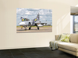 A Jas-39 Gripen of the Czech Air Force at Cambrai Air Base, France Wall Mural by  Stocktrek Images