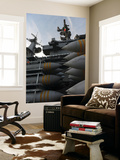 Stacked Ordnance Ready to Be Loaded Aboard USS John C. Stennis Wall Mural by  Stocktrek Images