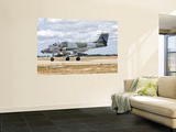 A Uruguayan Air Force Ia-58 Pucara at Natal Air Force Base, Brazil Wall Mural by  Stocktrek Images