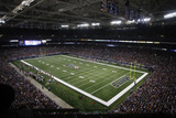 Packers Rams Football: St. Louis, MO - The Edward Jones Dome Fotografisk trykk av Tom Gannam