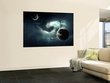 A Nearby Nebula Forming Deadly Vortex Wall Mural by  Stocktrek Images