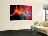 The Remains of a Supernova Give Birth to New Stars Wall Mural by  Stocktrek Images