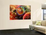 Artist's Concept Illustrating the Cosmic Beauty of the Universe Wall Mural by  Stocktrek Images