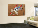A Pitts Model 12 Biplane in Flight Wall Mural by  Stocktrek Images