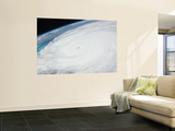 Eye of Hurricane Irene as Viewed from Space Wall Mural by  Stocktrek Images