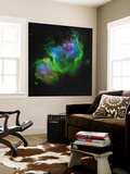 The Soul Nebula Wall Mural by  Stocktrek Images