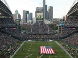 Seattle Seahawks--Qwest Field: Seattle, WASHINGTON - CenturyLink Field Photographic Print by Marcus Donner