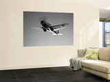 A Republic AT-12 Guardsman Aircraft in Flight Wall Mural by  Stocktrek Images