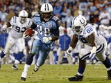 Colts Titans Football: Nashville, TENNESSEE - Chris Johnson Photographie par Bill Waugh