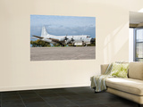 A Portuguese Air Force P-3P Orion at Beja Air Base, Portugal Wall Mural by  Stocktrek Images