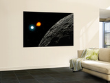An Eclipsing Binary Star known as Algol, or Beta Persei Wall Mural by  Stocktrek Images