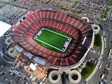 New York Giants-Giants Stadium: East Rutherford, NEW JERSEY - Giants Stadium Photographic Print by Julia Robertson
