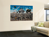 A World Stripped Bare from the Effects of the Colonial Wars Wall Mural by Stocktrek Images