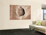 A Meteorite Impact Crater in the Northern Arizona Desert of the United States Wall Mural by  Stocktrek Images