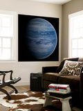 Artist's Concept of a Blue-White Gas Giant Planet Wall Mural by  Stocktrek Images