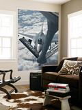 An F-16 from Colorado Air National Guard Refuels from a U.S. Air Force Kc-135 Stratotanker Wall Mural by  Stocktrek Images