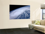 View from Space of Hurricane Irene as it Passes over the Caribbean Wall Mural by  Stocktrek Images