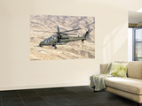 An Italian Army Aw-129 Mangusta over Afghanistan Wall Mural by  Stocktrek Images