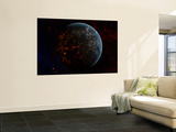 Artist's Concept of an Extraterrestrial Planet Wall Mural by  Stocktrek Images