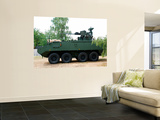 The Piranha Iiic of the Belgian Army Wall Mural by  Stocktrek Images