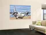 An Alenia C-27J Spartan of the Italian Air Force Wall Mural by  Stocktrek Images