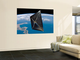 Artist Concept of NanoSail-D in Space Wall Mural by  Stocktrek Images