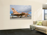 An F-16A Fighting Falcon of the Famous Us Navy Topgun Naval Fighter Weapons School Wall Mural by  Stocktrek Images