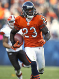 Browns Bears Football: Chicago, IL - Devin Hester Fotografisk trykk av Nam Y. Huh