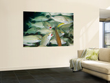 A School of Smallmouth Grunts, Key Largo, Florida Wall Mural by  Stocktrek Images