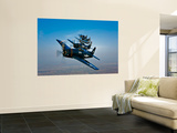 Five Grumman F8F Bearcats in Formation Wall Mural by  Stocktrek Images