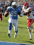 Chiefs Chargers Football: San Diego, CA - Antonio Gates Photo av Lenny Ignelzi