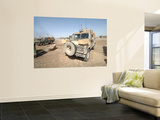 The Snatch Land Rover Patrol Vehicle Used by the British Army Wall Mural by  Stocktrek Images