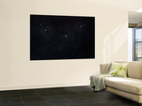 Cluster of Stars in Outer Space Wall Mural by  Stocktrek Images