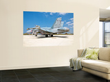 A Canadian Air Force F/A-18 Hornet Armed with Weapons Wall Mural by  Stocktrek Images