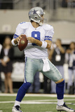 Seahawks Cowboys Football: Arlington, TX - Tony Romo Photographic Print by Tony Gutierrez
