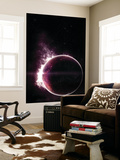 Artist's Concept of a Completely Ethereal Planet Wall Mural by  Stocktrek Images