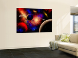 The Cosmos Is a Place of Outstanding Natural Beauty and Wonder Premium Wall Mural by  Stocktrek Images