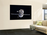 The Progress 40 Resupply Vehicle in Orbit Wall Mural by  Stocktrek Images