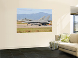 A Eurofighter 2000 Typhoon and a F-16Adf, Both from the Italian Air Force Wall Mural by  Stocktrek Images