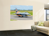 A Turkish Air Force F-16C Fighting Falcon on the Flight Line at Cambrai Air Base, France Wall Mural by  Stocktrek Images