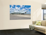 A Brazilian Air Force Embraer E-99 at Recife Air Force Base, Brazil Wall Mural by  Stocktrek Images