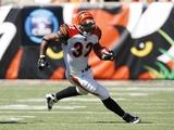 Broncos Bengals Football: Cincinnati, OH - Cedric Benson Photo av Ed Reinke