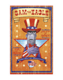 Sam the Eagle: Defender of Patriotism Prints