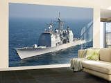The Ticonderoga-Class Guided-Missile Cruiser Uss Shiloh Wall Mural – Large by  Stocktrek Images