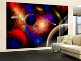 The Cosmos Is a Place of Outstanding Natural Beauty and Wonder Wall Mural – Large by  Stocktrek Images